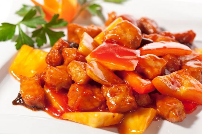 Cucina cinese maiale in agrodolce for Una salsa da cucina cinese