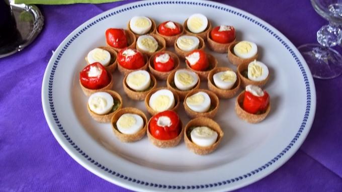 uova di quaglia come antipasto - Cucinare Uova Di Quaglia