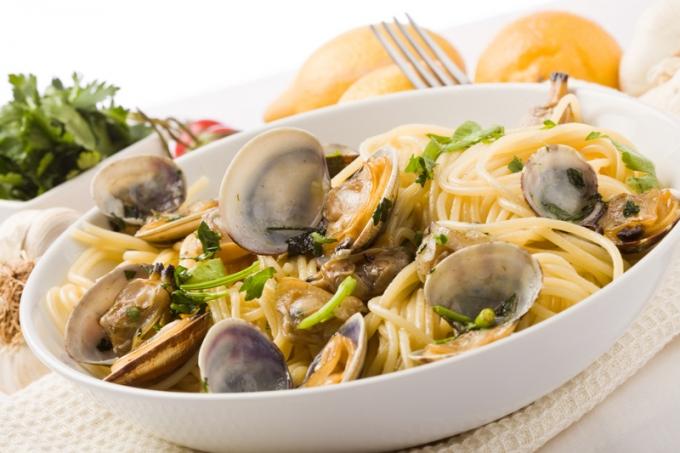 Primi piatti di pesce for Cucina italiana pesce